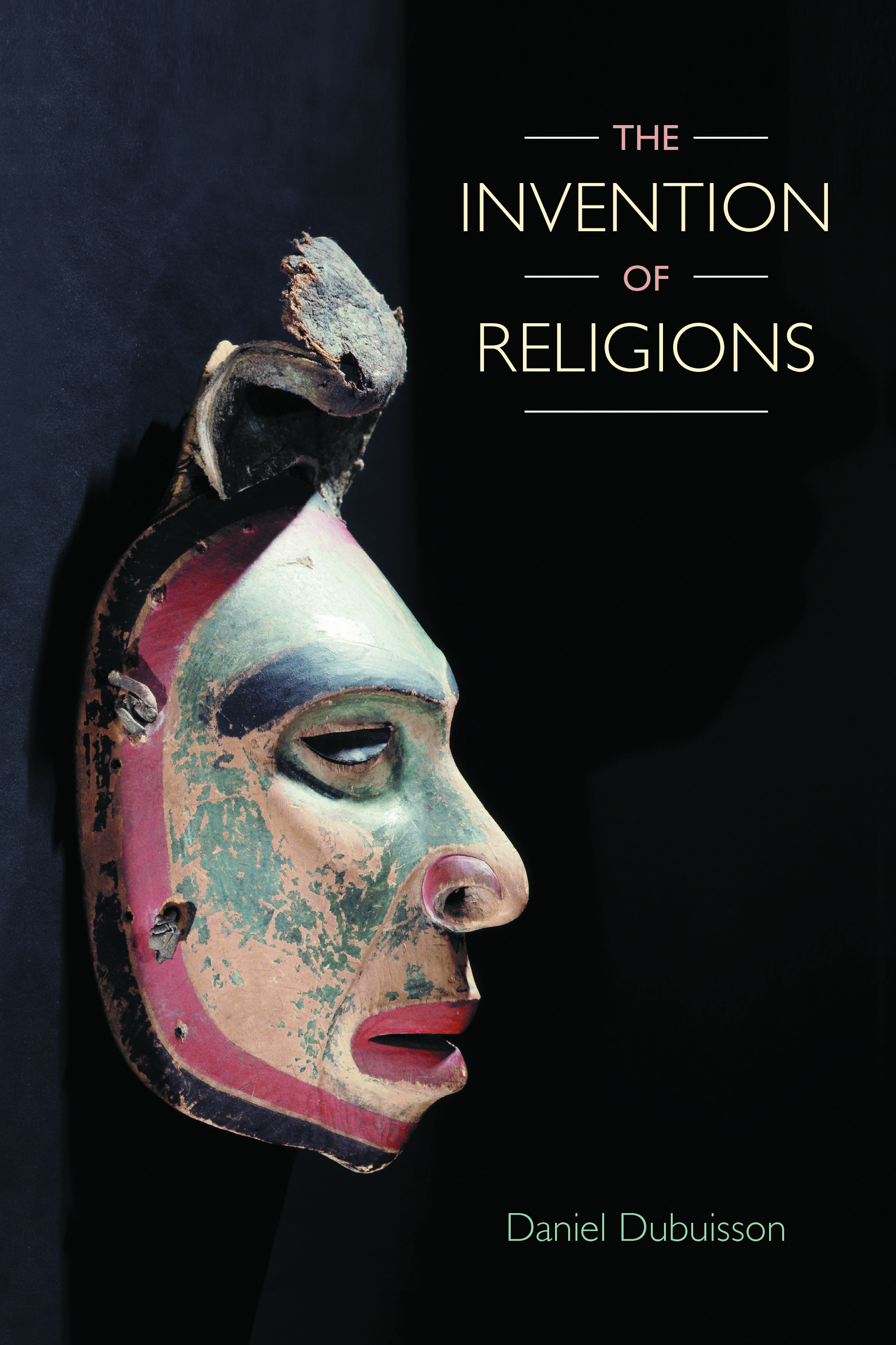 Book cover of The Invention of Religions