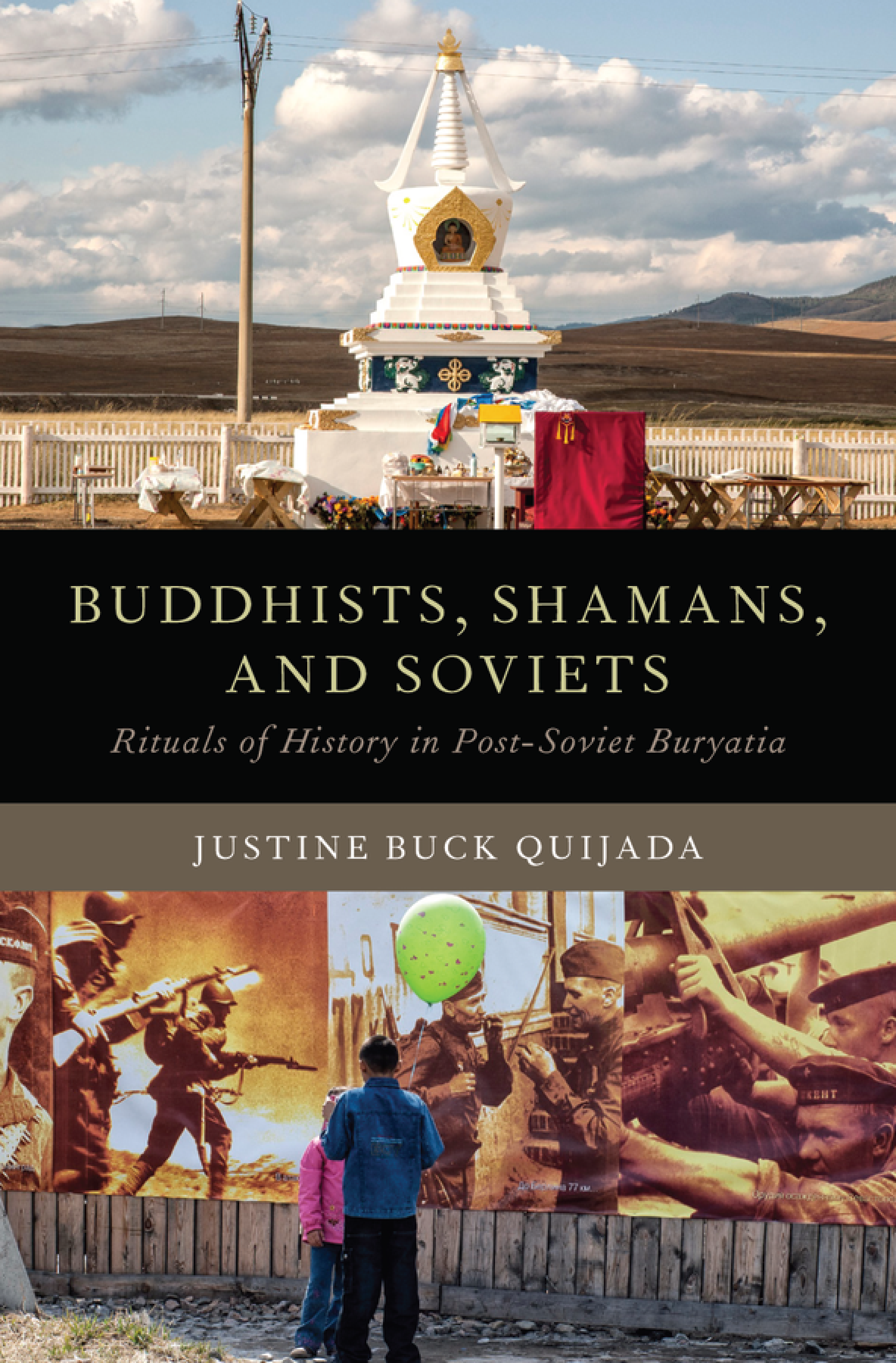 Book cover of Buddhists, Shamans, and Soviets